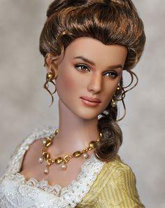 """*KEIRA KNIGHTLEY DOLL ~ as """"Elizabeth Swann"""", by: Noel Cruz"""