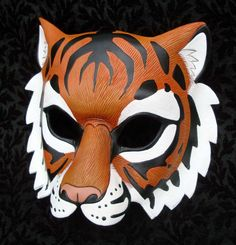 Mask idea: Tiger, inspired by this Bengal Tiger Mask by *merimask on deviantART