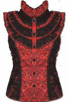 I don't normally like high collars, but. Steampunk Clothing, Steampunk Fashion, Victorian Fashion, Gothic Fashion, Victorian Steampunk, Dark Fashion, Cute Fashion, My Unique Style, My Style