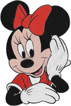 Minnie Mouse Machine Embroidery Design  0008 by phoenixembroidery, $2.50