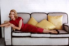 """""""I make no secret of the fact that I would rather lie  on a sofa than sweep beneath it.""""     -Shirley Conran"""