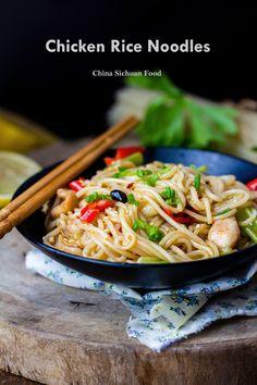 rice stick noodles stir fry | #Noodles #Chinese #Szechuan