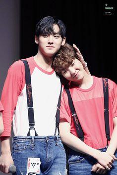Hoshi (Soonyoung) and Mingyu | cr.: @Marvelous_MG