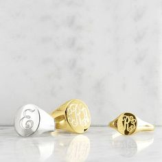 Classic Oval Signet Ring #makeyourmark A classic. Have had mine for twenty plus years.