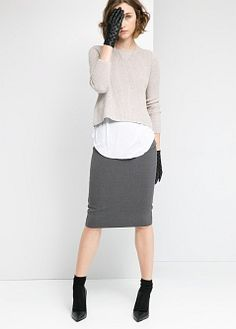 Chunky knit sweater - Women | MANGO