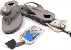 Dump A Day Simple Ideas That Are Borderline Genius - money in shoes