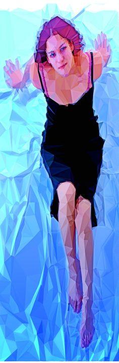"""Ischtwan © 2015; """"longer woman"""" DigitalArt"""