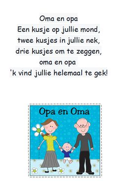 versje oma en opa All In The Family, Family Guy, Cartoon People, Cute Clipart, Grandma And Grandpa, Mothers Day Crafts, First Grade, Grandparents, Grandchildren