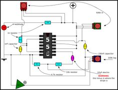 a nicely done and easy to understand schematic of the atari punk apc schematic