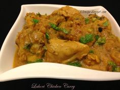 As its name implies it's a simple curry originated from Lahore-Pakistan. Now it's served all o...