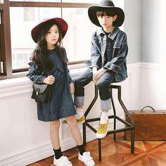 Ideas Baby Girl Fashion Asian For 2019 Girls Winter Fashion, Kids Fashion Boy, Little Girl Fashion, Toddler Fashion, Fashion Spring, Cute Asian Babies, Korean Babies, Asian Kids, Toddler Girl Style