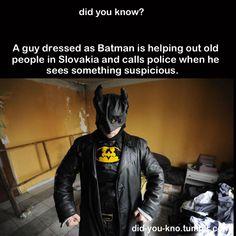 Awesome Slovakian Batman is awesome.