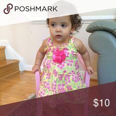 Spotted while shopping on Poshmark: Baby girls Yellow one flower Dress! #poshmark #fashion #shopping #style #Other