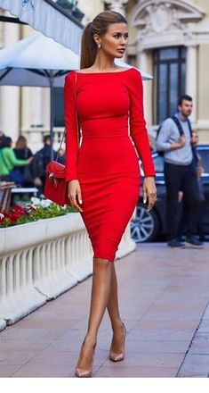 Red short dresss that I love  133dc6f431
