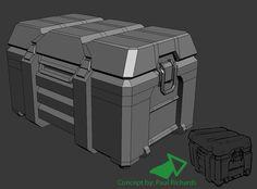 scifi box rendering - Google Search