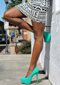 aztec and teal