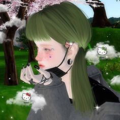 🧚🏼‍♀️☁️⭐️🥛🥢🍄🌿 imvu: nezuke (mine) uploaded by ·˚ ༘ ♡ Baby Pink Aesthetic, Aesthetic Indie, Aesthetic Girl, Aesthetic Videos, Goth Kids, Horse Girl Photography, Virtual Girl, Arte Cyberpunk, Real Anime