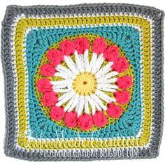 granny blanket : september flower week 38