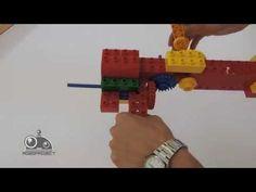 Лего Первые механизмы - Механический молоток - YouTube