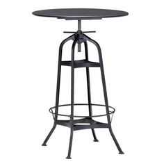 Buy the Zuo Modern 98125 Antique Black Direct. Shop for the Zuo Modern 98125 Antique Black Spartan Bar Table and save. Bar Furniture, Modern Furniture, Windsor Dining Chairs, Indoor Bar, Table Bar, Steel Bar, Dining Table In Kitchen, Dining Tables, Dining Room