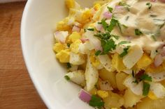 Egg & Potato Salad.