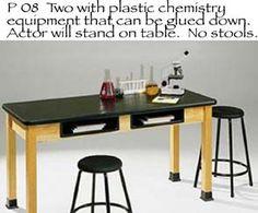 Scene 5 - in the Chemistry lab.