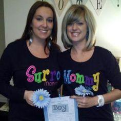 #mommytobe & #surrogate shirts for #IVF,   www.3sisterssurrogacy.com