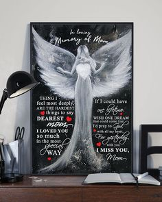 In Loving Memory Gifts, Great Gifts For Mom, Perfect Gift For Mom, Love Gifts, Mom In Heaven Poem, Heaven Poems, Mom Daughter, Gsm Paper, Great Love