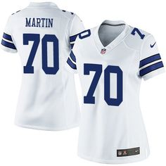 Nike Dallas Cowboys Women s  70 Zack Martin Limited White Road NFL Jersey  Dallas Cowboys Shop 4acf61e92