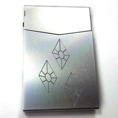 MLP Rarity Silver Slim Cigarette Business Card Pocket Case BUS-0418
