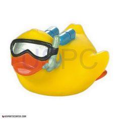 Rubber Duck Toy: Underwater Treasure Hunter Duck