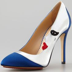 Over the Moon About the Charlotte Olympia 'Luna' and 'Eclipse' Moon Face Pumps