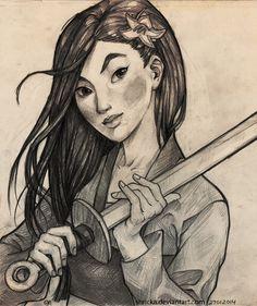(Mulan) by-shricka-on-tumblr
