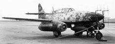 Captured Messerschmit Me262 by the USAAF, foreign equipment FA