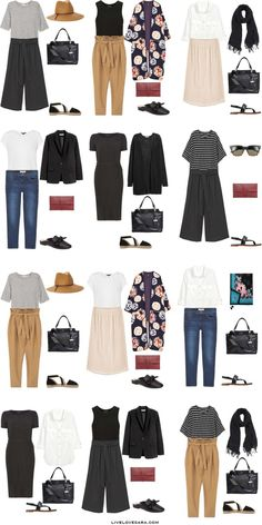 Packing List: Dubai in Spring 2017. Outfit Options 1-livelovesara