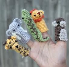 finger puppets crochet patterns free - Google keresés...this would be great for scraps!