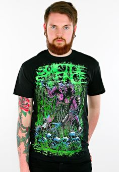 Order Suicide Silence - Disengage - T-Shirt by Suicide Silence for € at Impericon - The biggest assortment in Europe. Metal Shirts, Rock T Shirts, Band Shirts, Purple Band, Mens Boots Fashion, Band Merch, Metal Bands, My Wardrobe, Emo