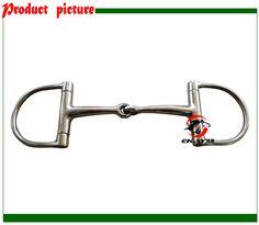 Livraison gratuite SS racing Dee peu, solide articulé bouche. Cheval produit, cheval de course produit (BT0402)