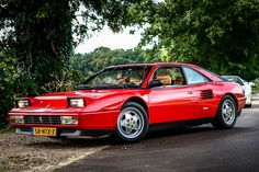 Ferrari Mondial, Red Heads, Luxury Cars, Automobile, Motorcycles, Vehicles, Sports, Autos, Fancy Cars