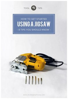 Tool Tips: How to use a Jigsaw - 8 tips you should know -