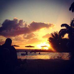 """Repost from Instagram ! #WeLike ! #Madinina by @twistgrenadine """"Un agréable coucher de soleil martiniquais au bord de la piscine le monsieur devant moi en a autant profité ! [#martinique #vacanves #steluce #coucherdesoleil #sunset #colours #hollydays #beautiful #ile #ig_martinique #ig_France #igers #ig_europe #ig_sunsetshots #picofday #photolovers #photooftheday #nature #palmier #jeu#de#couleurs #naturelover #sun #orange #yellow #magical ]"""" http://ift.tt/21q1uFO"""