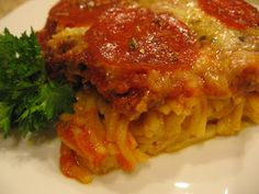 cookin' up north: Baked Spaghetti