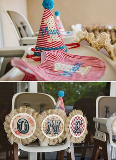 Rustic & Vintage Carnival {Twins First Birthday Party}