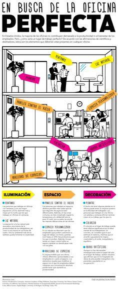En busca de la oficina perfecta #infografia