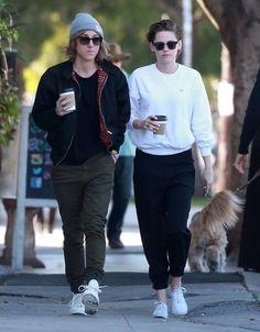 Kristen Stewart Photos: Kristen Stewart and Alicia Cargile Get Coffee