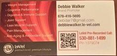 Enroll for FREE!!! www.debbiewalker.le-vel.com