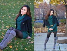 Fall green visit me at WWW.allherfashion.WordPress.com