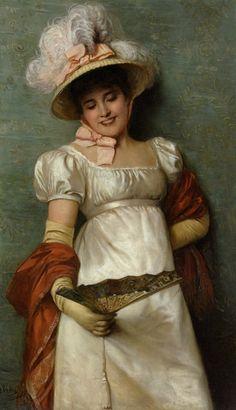 A-Fair-Maiden-by-Giovanni-Costa