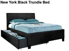 BEST: New York Black Trundle Bed Black Trundle Bed 93960NYBSTD Today's price: $298 http://www.americanfreight.us/product-new-york-black-trundle-bed-1376 American Freight Furniture and Mattress Antioch, TN (on Harding, on way to iostudio) (615) 641-1000 http://www.americanfreight.us Same-day delivery