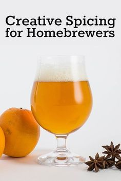 Want to try your hand at a beer spiced with something other than cinnamon, clove, nutmeg, and ginger? Here's how to experiment before you brew a whole batch. Homebrew Recipes, Beer Recipes, Brewing Recipes, Recipies, Brew Your Own Beer, Brewery Design, Spiced Wine, Buy Beer, Cinnamon Recipes